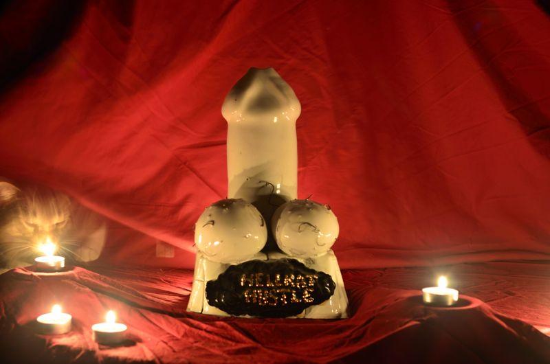 Candles up the ass