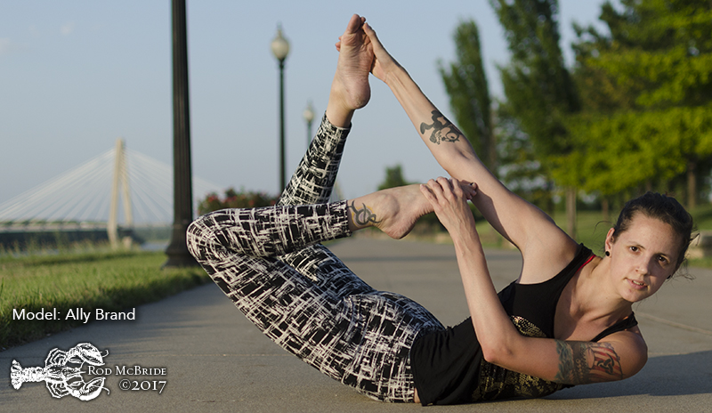 Midwest Rock Lobster: Ally Brand Yoga Shoot